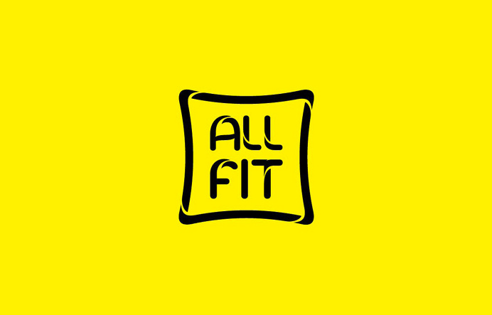 Logo for new fitness gym. Allfit