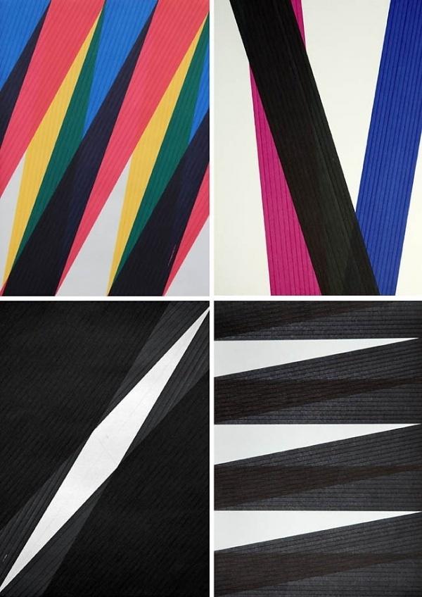 plenty of colour #abstract #tips #image #illustration #felt