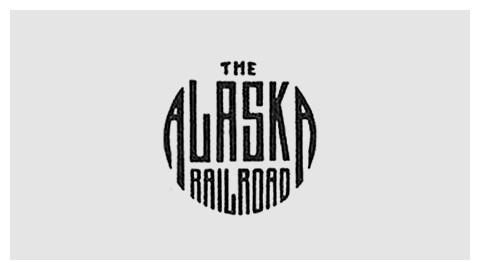Railroad company logo design evolution #railroad #logo #alaska