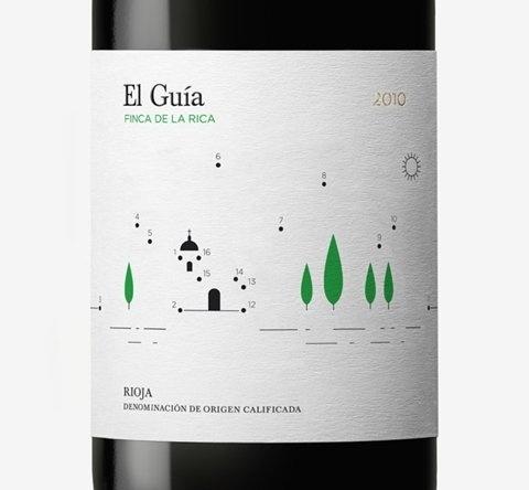 FFFFOUND! | Finca de laRica - Wine Packaging Blog - The Dieline Wine #design #graphic