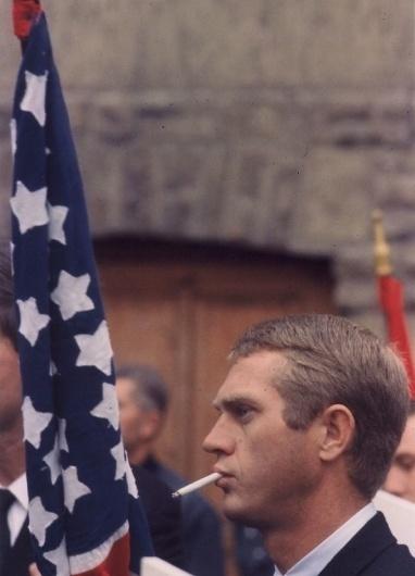 STEVE McQUEEN | HOLLYWOOD'S ANTI-HERO & TRUE SON OF LIBERTY « The Selvedge Yard #steb