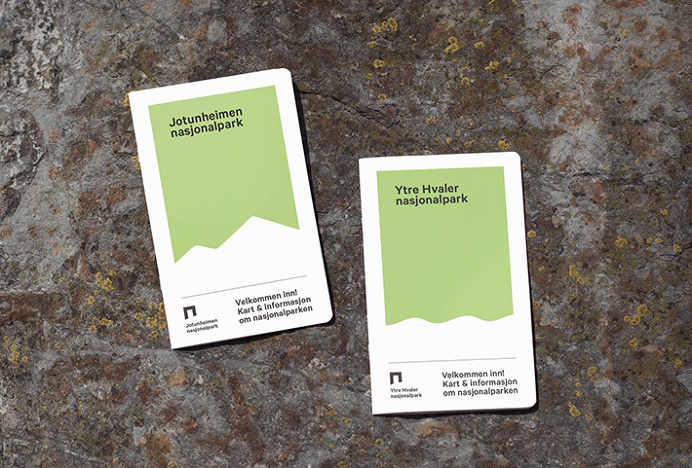 Norway's National Parks by Snøhetta #graphic design #guide #print