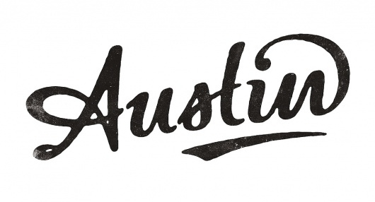 Austin Hand-lettered Typography #lettering #hand #typography