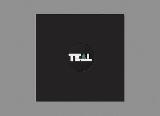 TEAL on the Behance Network #pyndt #album #kasper #design #graphic #cover