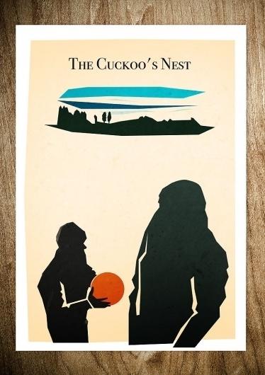 CUCKOO'S NEST - Rocco Malatesta Posters & Prints #movie #malatesta #graphic #rocco #illustration #cuckoo #poster
