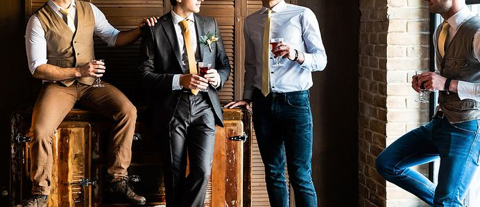 While bachelor party gifts are not mandatory, it can be considered thoughtful and good manners. A lot of guests chose to bring a gift to the bachelor party that can be used during the party, such as a gag gift or novelty item.