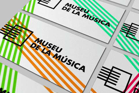 Étapes - Museu de la música #visual #business #branding #card #identity #stationery #music