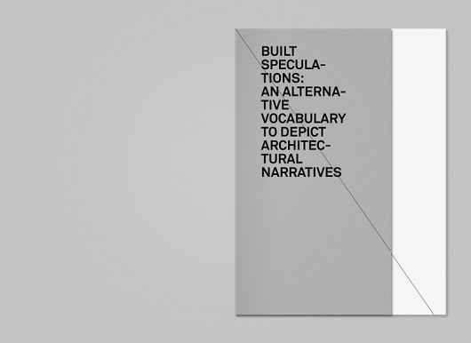 Built Speculations : INESNEPOMUCENO #print #design #editorial #typography