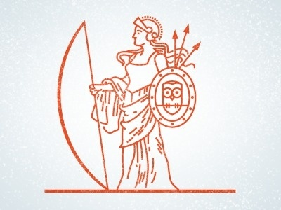 Dribbble - Athena by Joseph Blalock #lines
