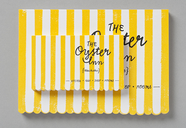 The Oyster Inn #design #graphic #identity