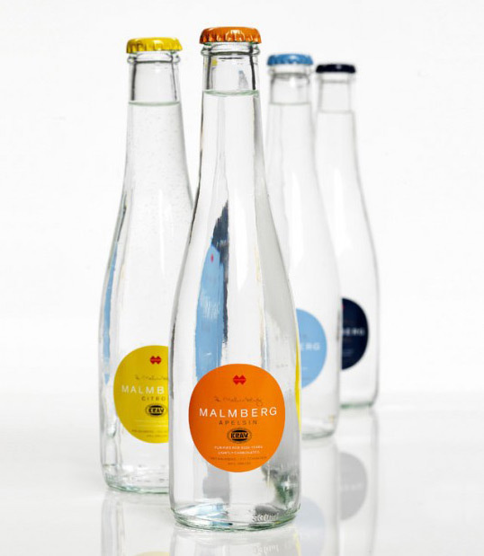 malmberg original water #packaging #glass #water #bottle