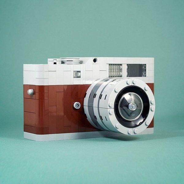 Lego Leica M9 by Chris McVeigh #camera #leica #lego