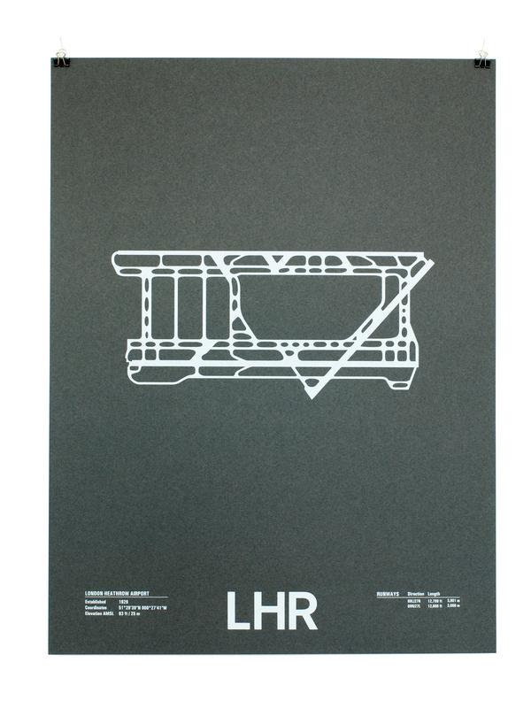 lhr #print #runway #paper #poster #airport