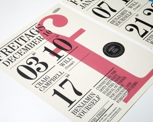 A Designers Mind #red #print #flyer #black #type #typography
