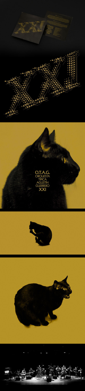 Tango album design OTAG XXI #album #edition #digipack #argentina #silver #classic #packaging #retro #cat #record #mirror #musica #vinyl #otag #music #tango #special #xxi #cd