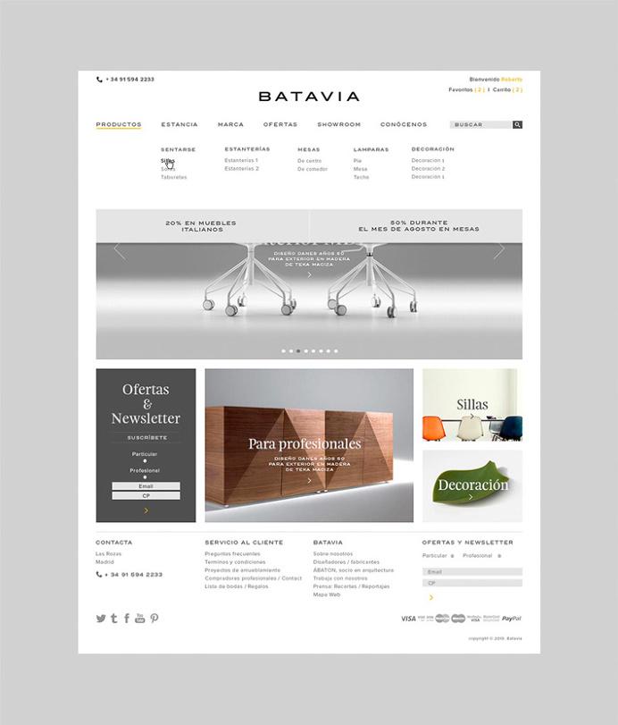 Batavia by We Are Rifle #web design #web #site