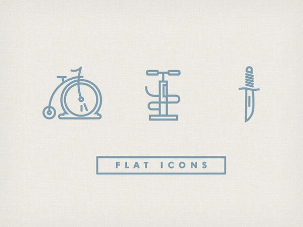 Flat Icons #illustration #icons