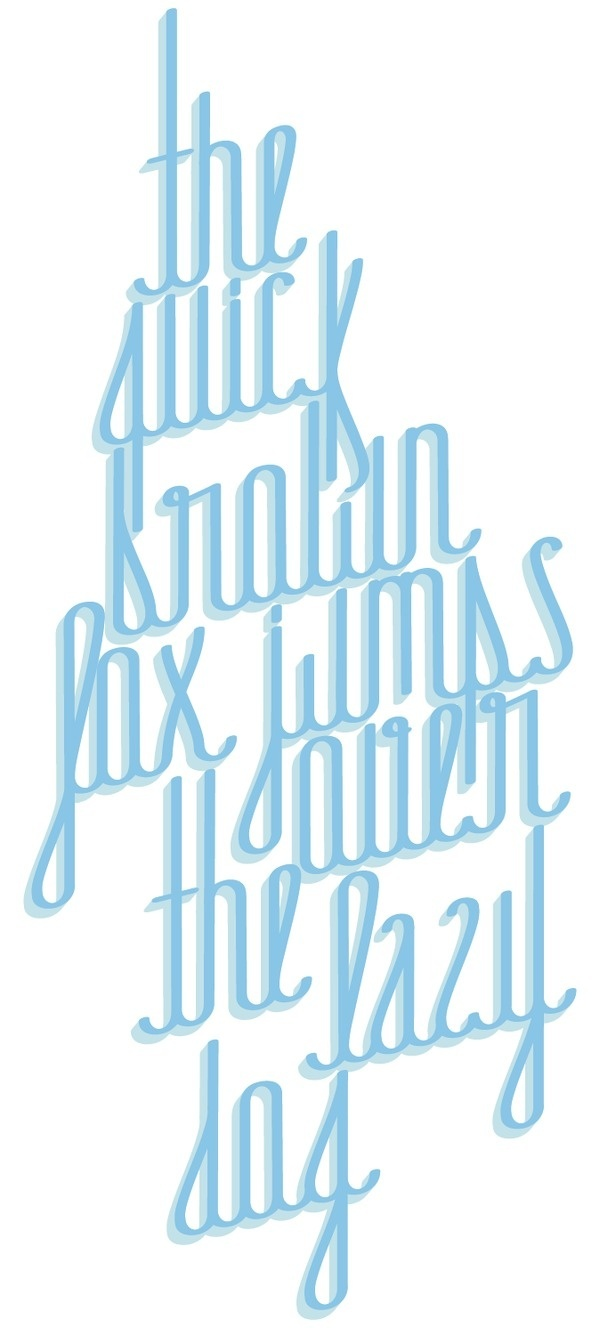 JdS Typeface by Jorge Amador #typography