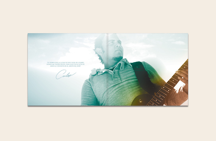 Gota Band #packaging #music #heaven #god #glory #home #minimal #rain #cd #booklet #editorial