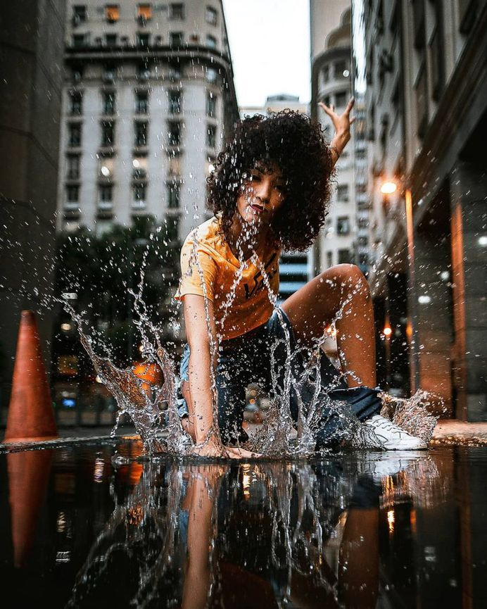 Portraits of Dancers on the Streets of Rio de Janeiro by Alessandro Marihno