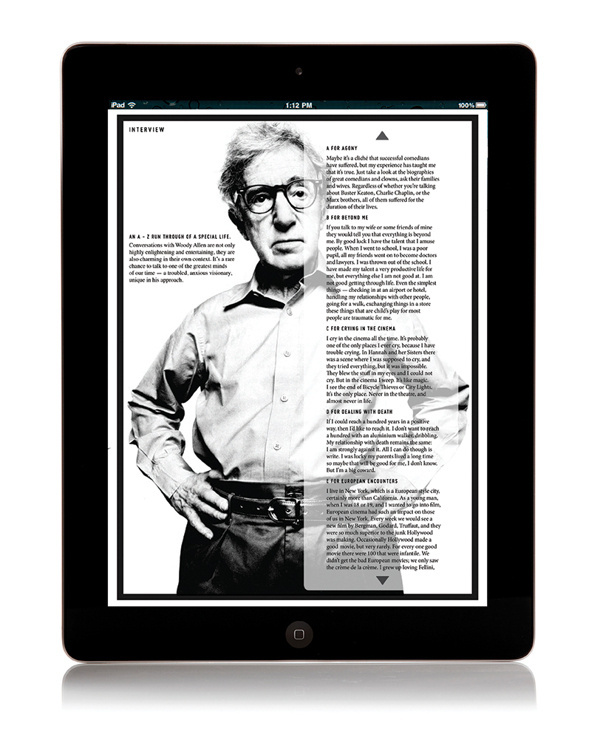 // ARTS CULTURE MAGAZINE #ipad #epublication