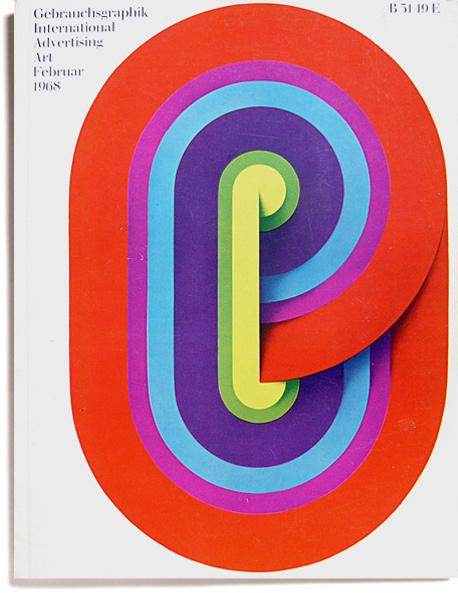 Gebrauchsgraphik Feb 1968 #gebrauchsgraphik #design #novum #magazine