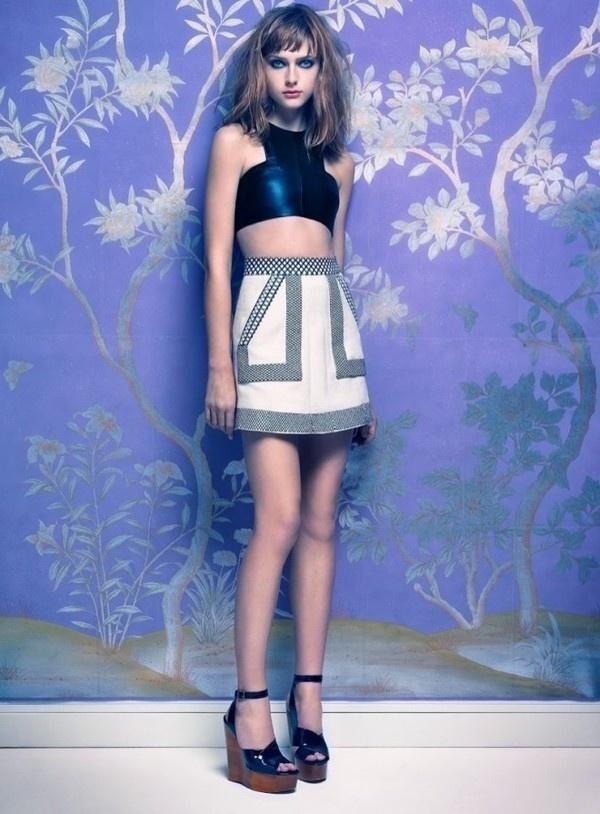 Gracie van Gastel by Mario Testino #fashion #photography #inspiration