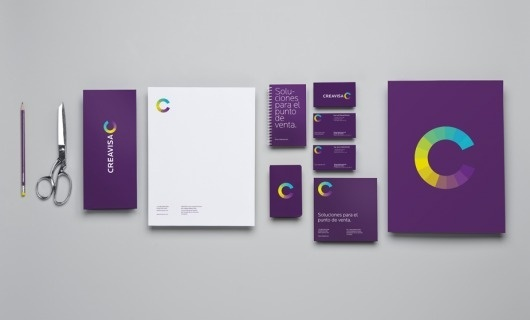 Anagrama | Creavisa #branding #design #graphic #identity #stationery