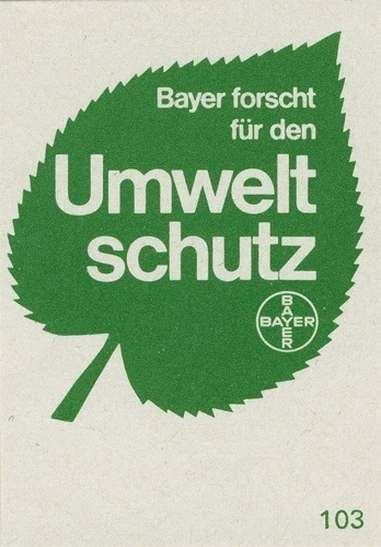 All sizes | German matchbox label | Flickr - Photo Sharing! #nature #design #graphic #green