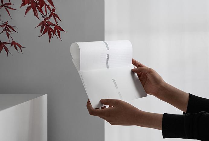 Edouard Malingue Gallery by Lundgren+Lindqvist #invite #envelope
