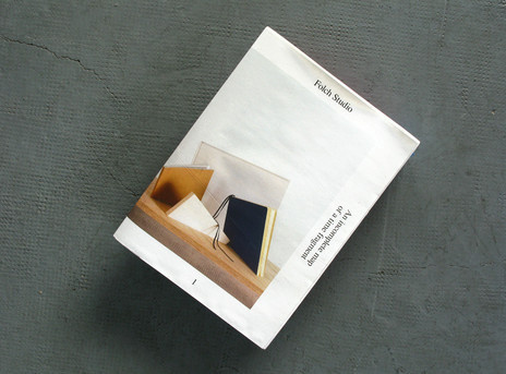 Folch Studio Newspaper #cover #newspaper #folch