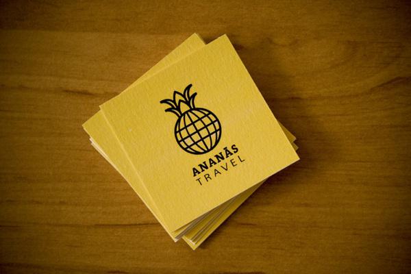 Ananxc3xa1s Travel #branding #yellow #graphic #travel #desing #brand #logo