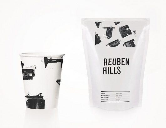 Reuben Hills - Luke Brown #packaging