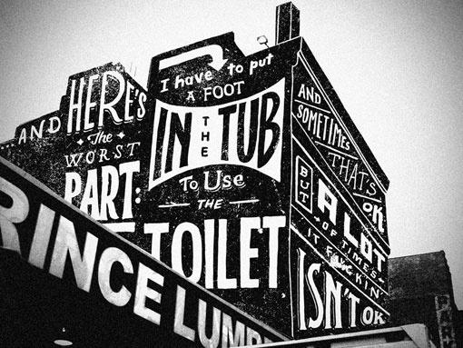 Design Work Life » Jon Contino: Louie Lettering and Illustration #illustration #lettering #retro #typography