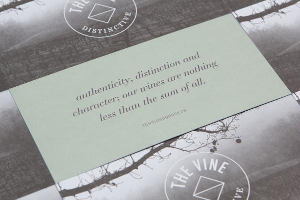 The Vine on Behance #print