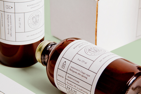 RoAndCordials on the Behance Network #packaging