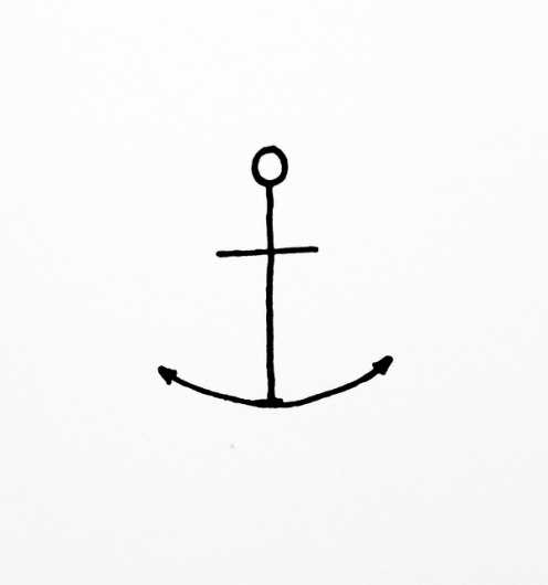 eastcoastbred.us #anchor #illustration #tattoo #minimal