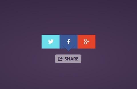 Simple Social Share Button jQuery Plugin : Share Button #jquery #javascript