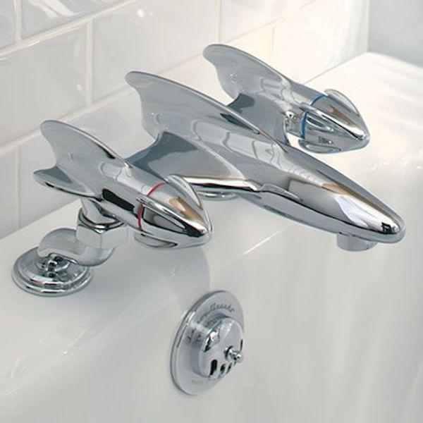 Belle Aire Deck Mounted Bath Filler #tech #flow #gadget #gift #ideas #cool