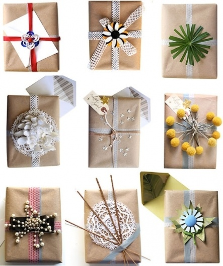 Bisous Chic #gift #diy #wrapping