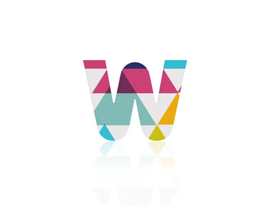 W (Concept 2) #logomark #logo #identity #colours
