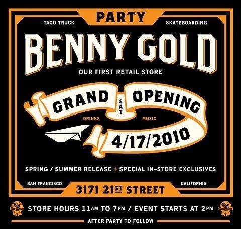 FFFFOUND! | ILOVEDUST x Benny Gold – Store Opening Collaborative T-Shirt | FreshnessMag.com
