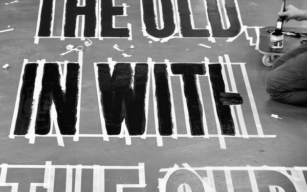 O.W.T.O. — Tom Clayton #installation #typography