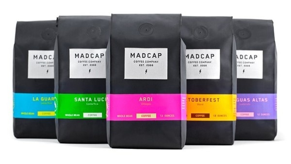 Design |Â MADCAP Coffee #packaging #label #coffee