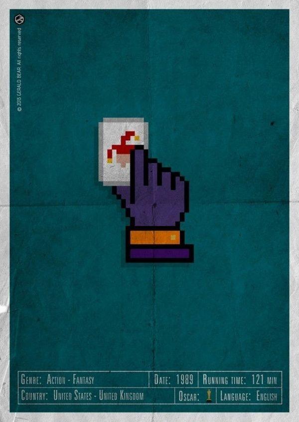 H-and Movie #movie #superhero #and #napier #design #gerald #jack #vintage #poster #web #bear #hand #action