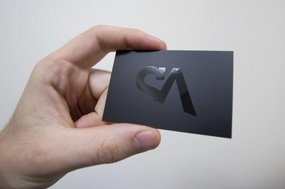 Shiny SA Design business card - CardFaves #card #business