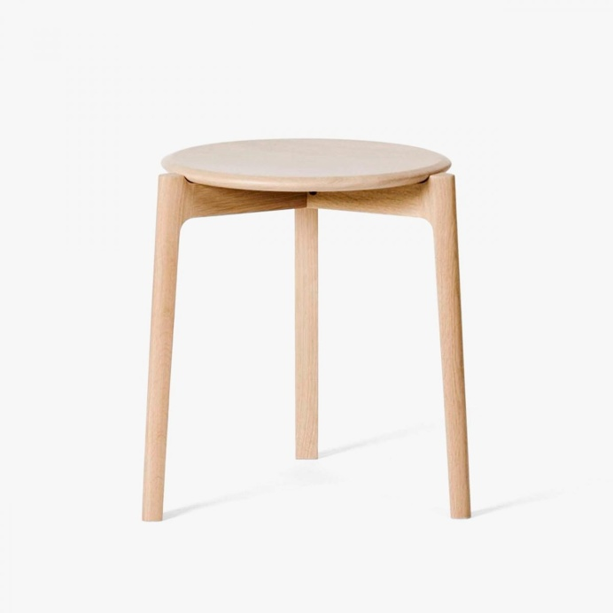 Svelto Round Stacking Stool by ercol. #stool