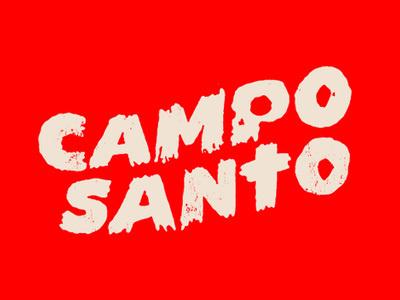 Campo #campo #red #logo #skull #santo