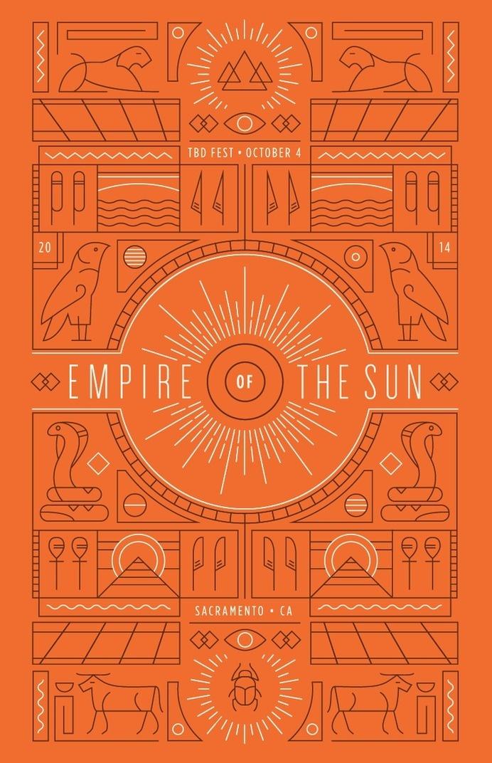 Empire of the Sun Poster #sun #of #empire #egypt #the #poster #egyptian #hieroglyphics