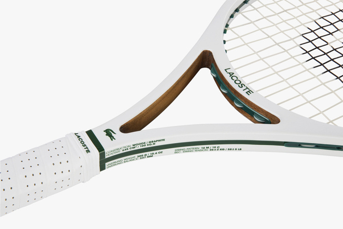Lacoste-L12-Racket-4 #lacoste #tennis #graphite #alligator #raquette #wood